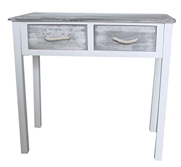 Shabby Chic Console Dressing Table Display Side Board Wooden Drawer