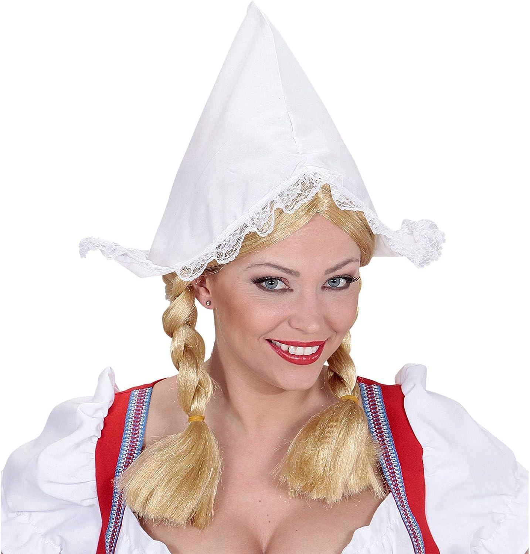 widmann-wdm0185r disfraz Adulto para mujer, blanco, wdm0185r ...