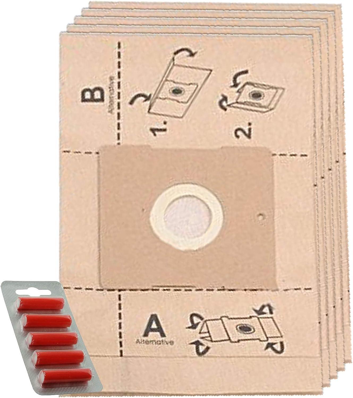 Spares2go - Bolsas de Polvo para aspiradoras Panasonic (5 Unidades ...