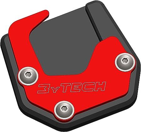 Mytech Seitenständerverbreiterung Auflagevergrößerung Aus Eloxiertem Hochfestem Aluminium Motoguzzi V85 Tt Ab 2020 Rot Auto