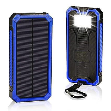 Amazon.com: BBtech 30000mAh Cargador solar portátil ...