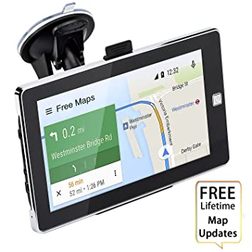 Amazoncom Car GPS Navigation Inch Touch Screen Voice Reminding - Gps amazon com