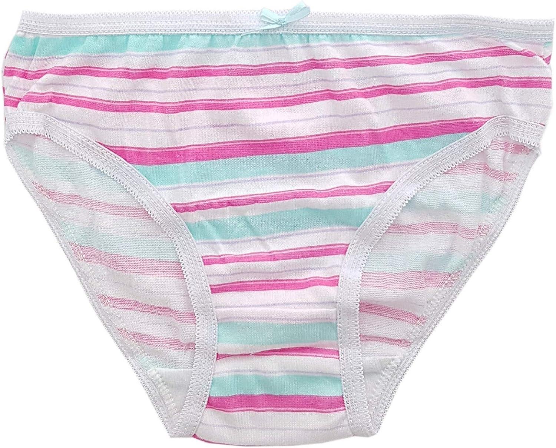 Fashion by Purdashian New Girls Underwear Girls Briefs 100/% Cotton Girls Multipack Knickers