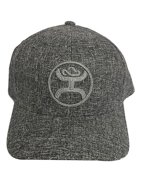 low priced 8bb90 fff25 ... where can i buy hooey hat mens baseball hooey flint flexfit l xl dark  gray 1686gy
