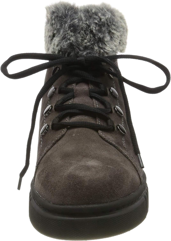 Stonefly Damen Dixie Hdry Velour/Sint. Fur Schneestiefel, grau Grau Magnet Gray 08w