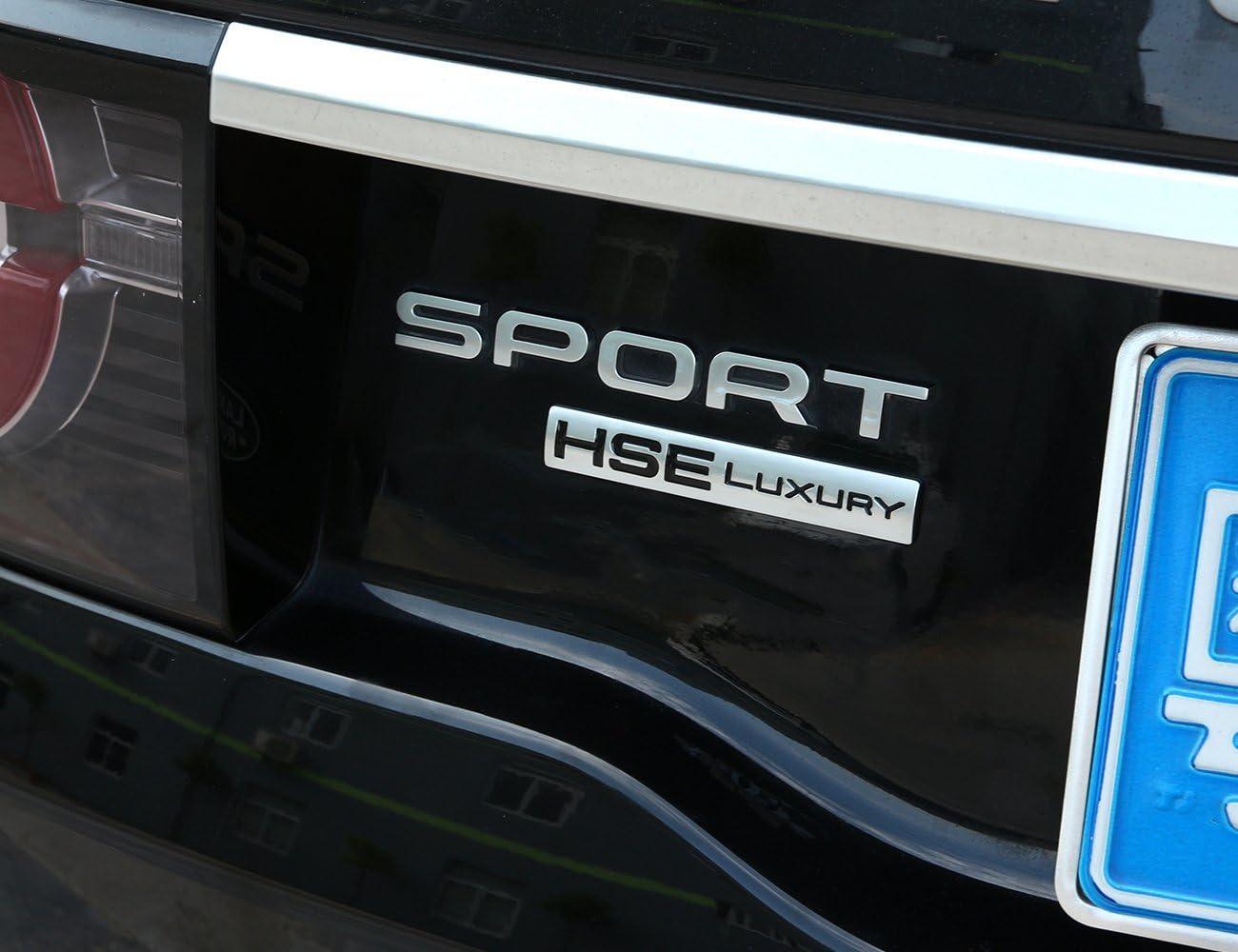 METYOUCAR ABS HSE LUXURY Emblem Badge Cover Trim