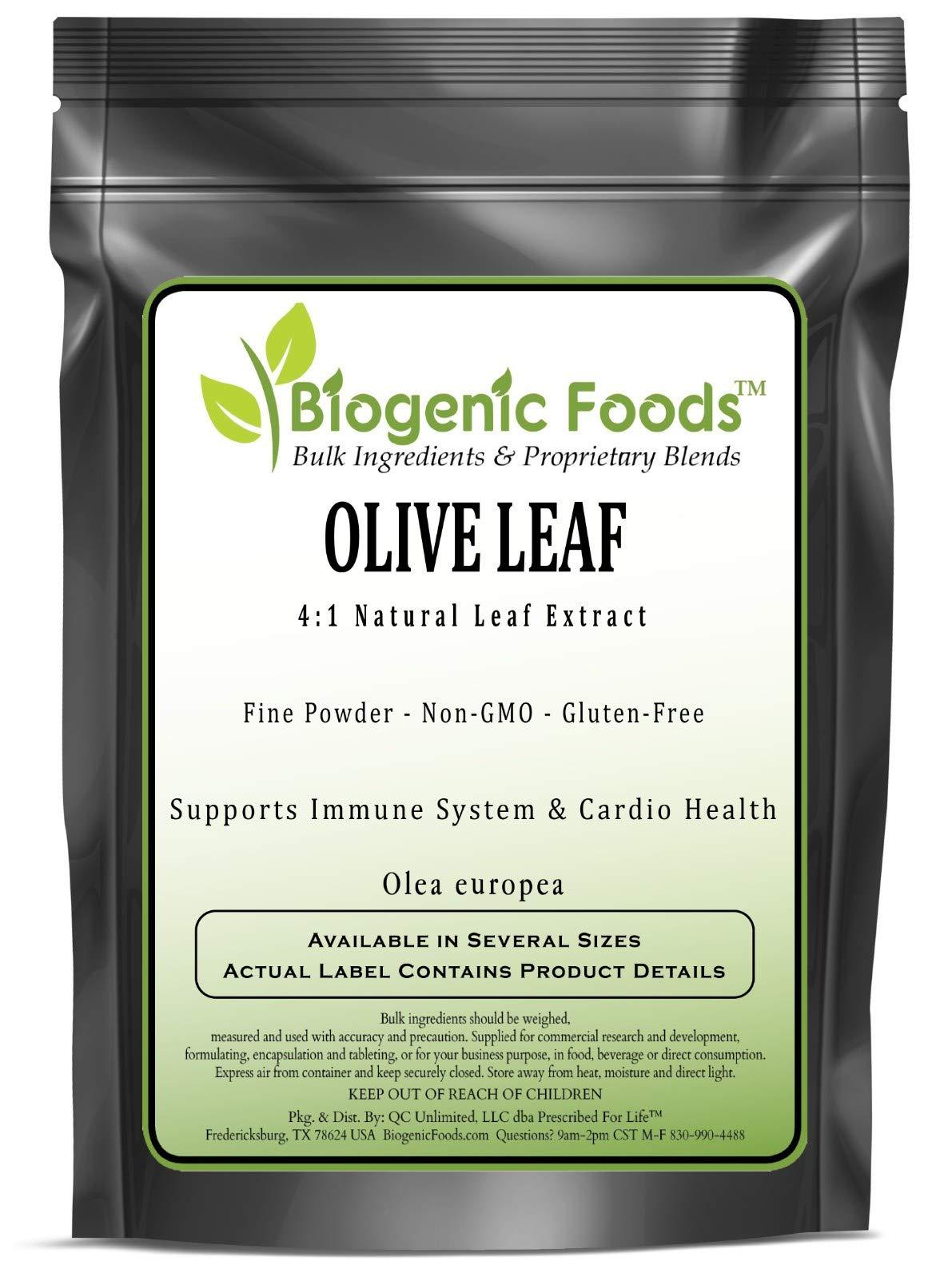 Olive Leaf - 4:1 Natural Leaf Fine Powder Extract (Olea Europea), 25 kg
