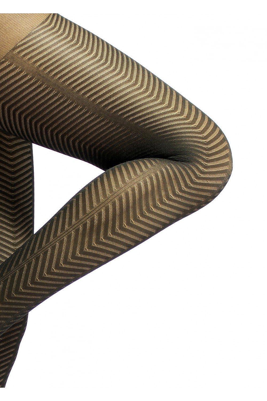 KOKETA - Panty ultra resistente 70 DEN - Motivo Abril: Amazon.es: Ropa y accesorios