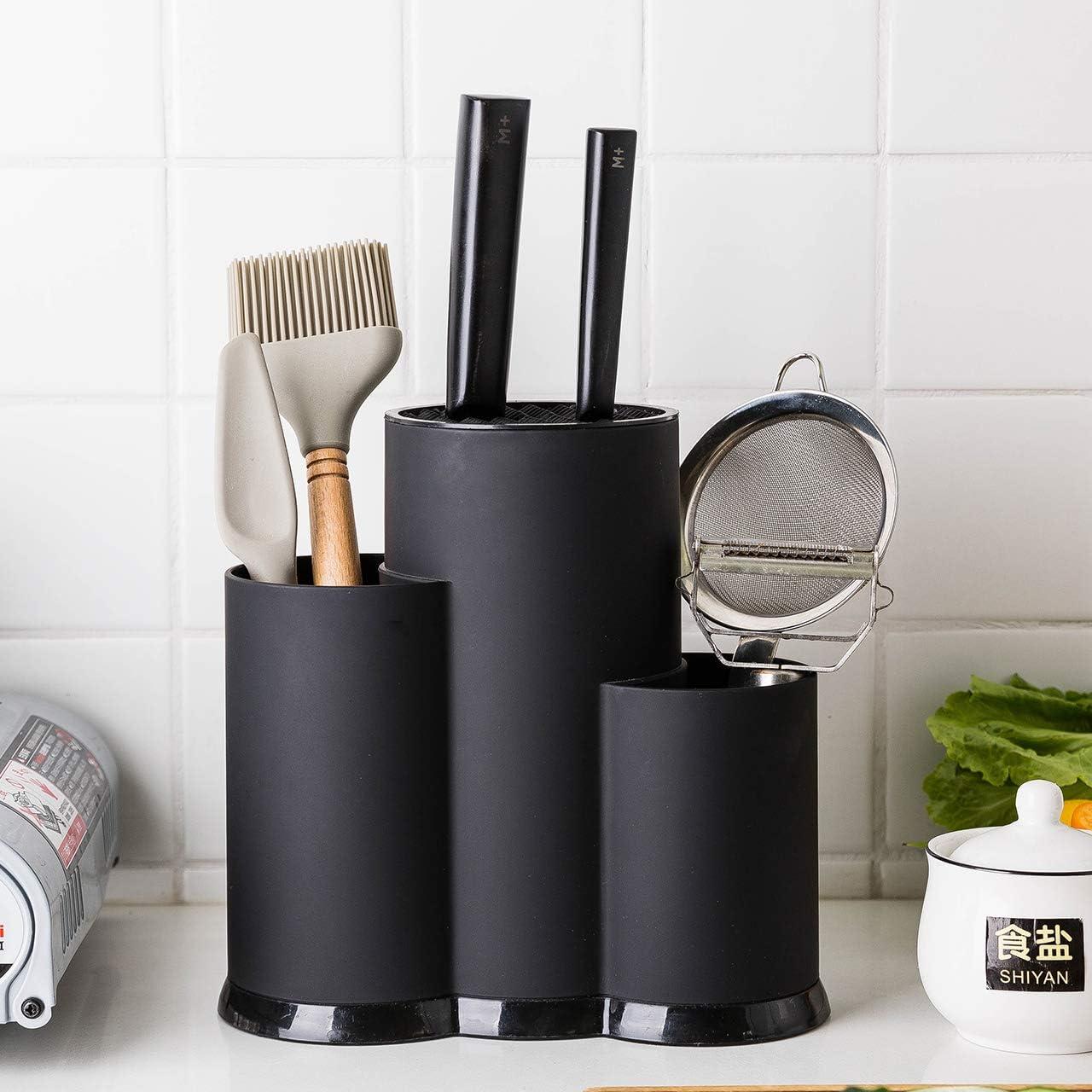 Cutlery Holder Utensil Organizer Spoon Storage Drainer Flatware Kitchen Supplies