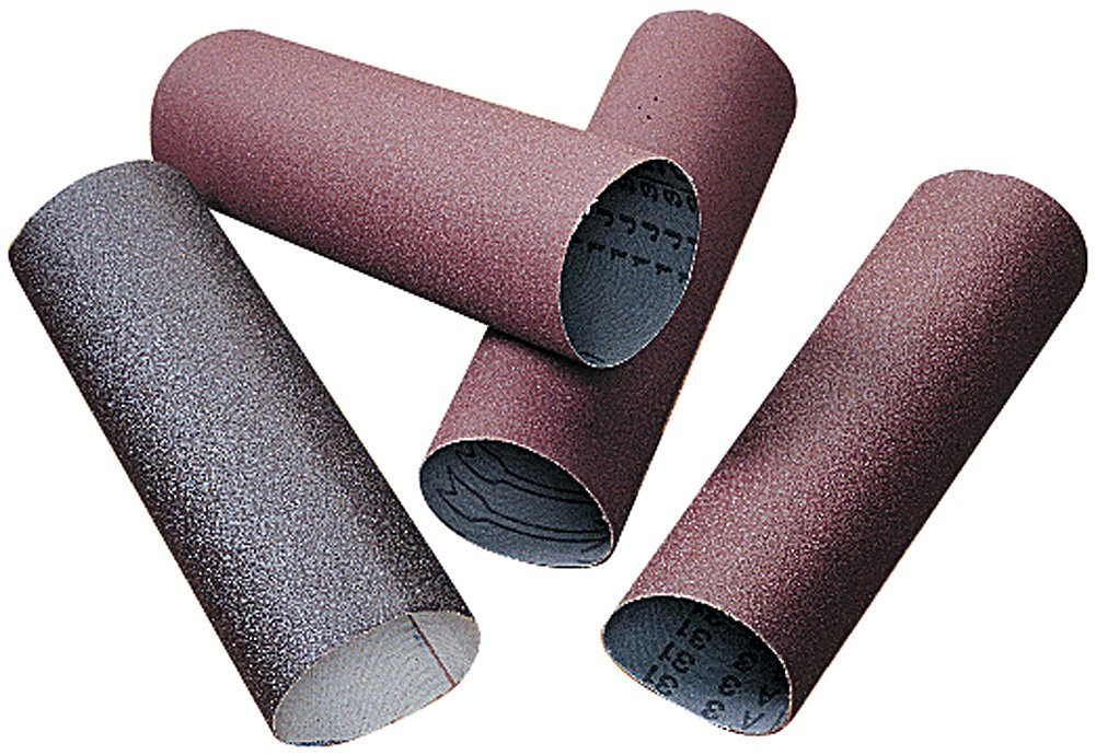 A&H Abrasives 918741, 50-Pack,''abrasives, Sanding Sleeves, Aluminum Oxide, (j-Weight), Pump Sleeves'', 6x7 Aluminum Oxide 120j Pump Sander Sleeve