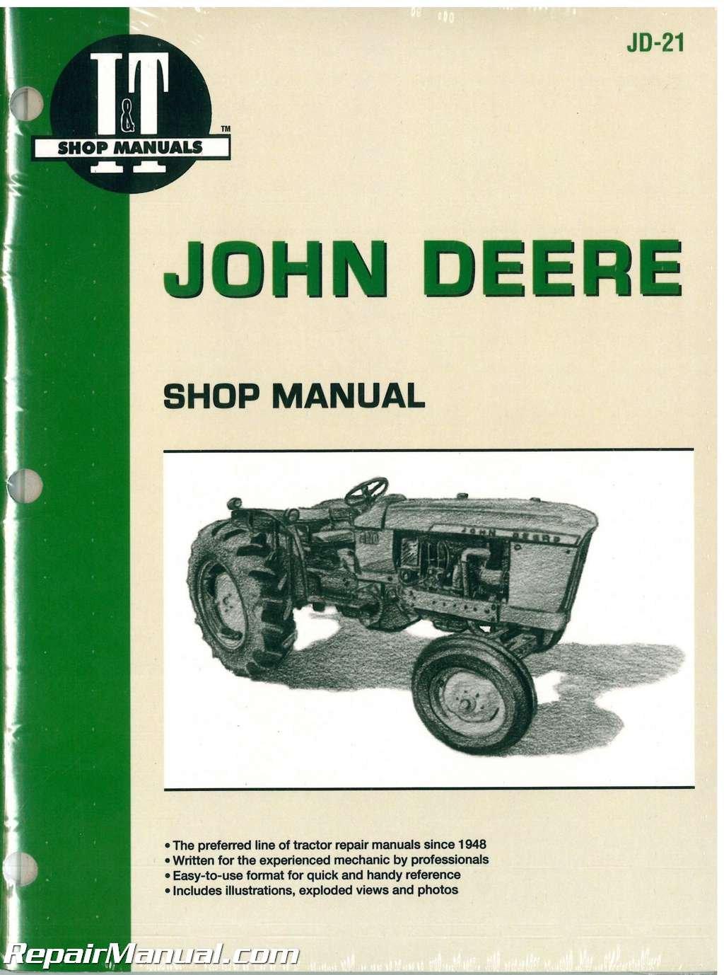 JD-21 John Deere 1010 2010 Tractor Workshop Service Manual: Manufacturer:  Amazon.com: Books