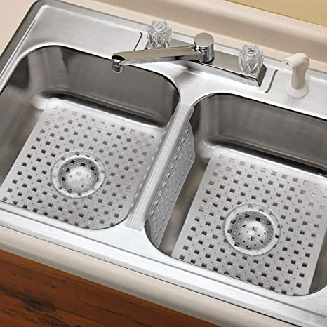 Under Kitchen Sink Protector on under sink tray protector, cabinet floor protector, driptite pans protector,