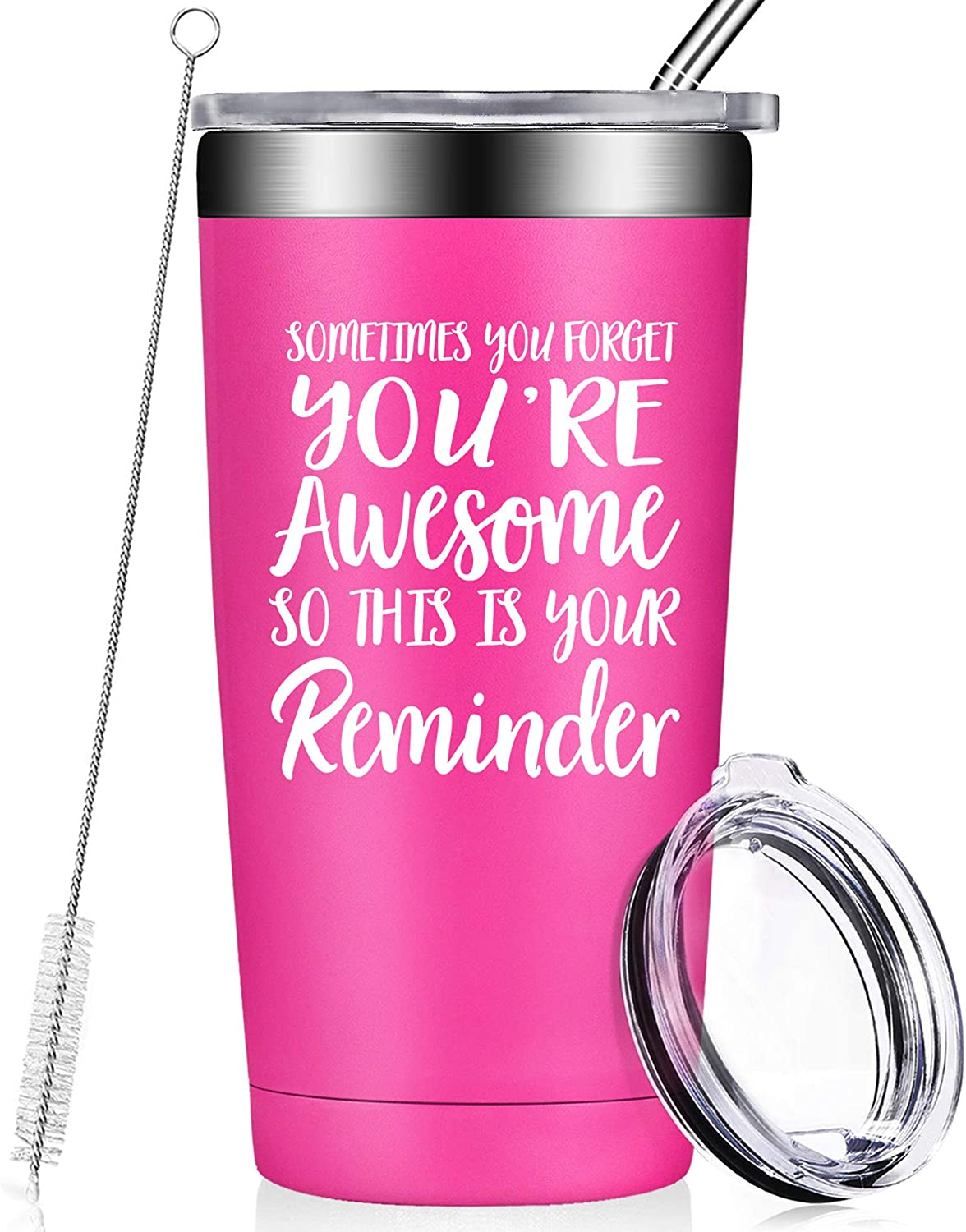 Thank You Gifts for Women - Funny Inspirational Birthday Graduation Gifts, Appreciation, Friendship, Christmas for Coworker, Employee, Boss, Mom, Wife, Friends, Men, Son, Daughter, Her Tumbler