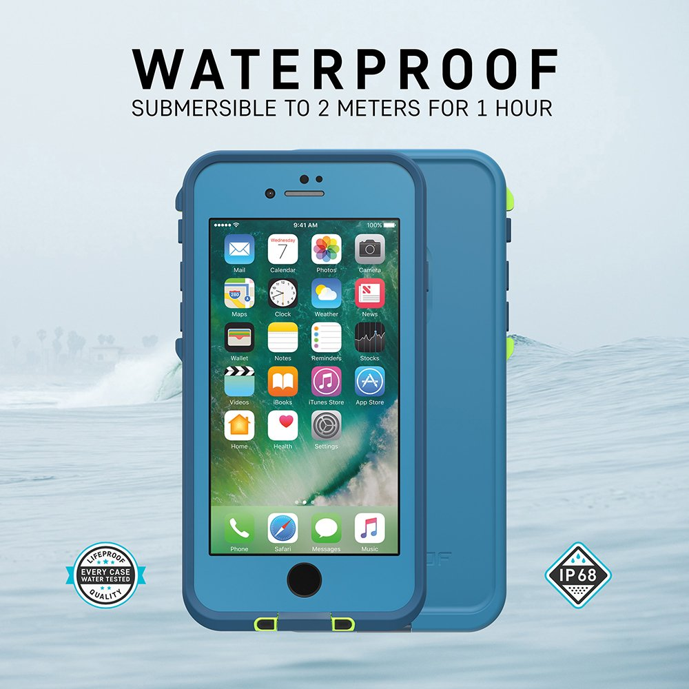 Lifeproof FRĒ SERIES Waterproof Case for iPhone 8 & 7 (ONLY) - Retail Packaging - BANZAI (COWABUNGA/WAVE CRASH/LONGBOARD) by LifeProof (Image #6)