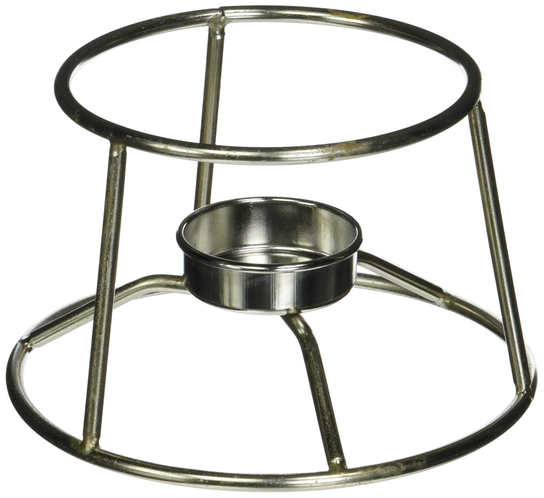 American Metalcraft CIFDR Stainless Steel Fondue Pot Stand, 5-Inch Diameter