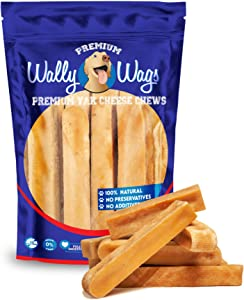 Wally Wags Pet Treats Gold Yak Dog Chews   Great for Dogs, Treat for Dogs, Keeps Dogs Busy & Enjoying, Indoors & Outdoor Use