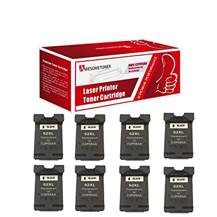 awesometoner© nuevo Compatible C2P05AN cartucho (HP 62 X L) negro ...