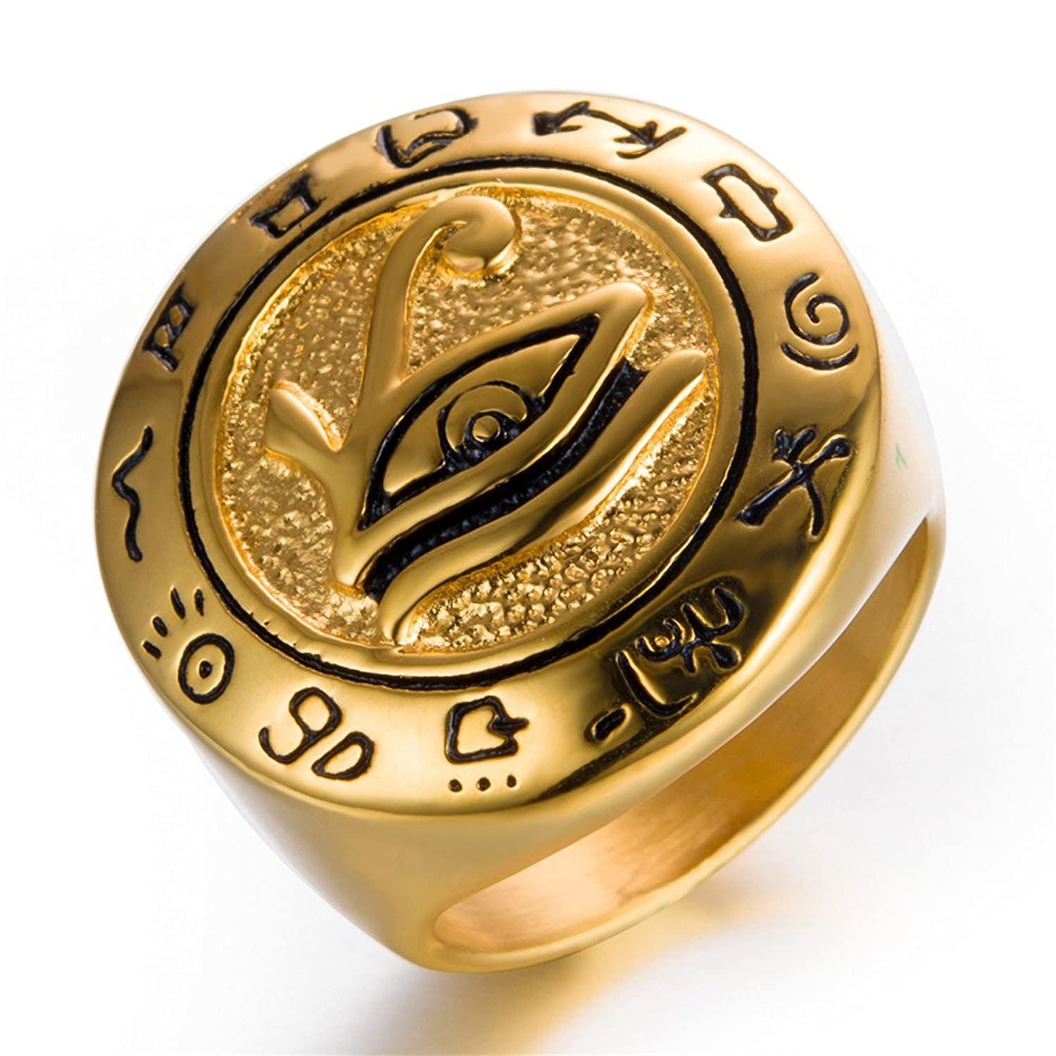 fullxfull zoom horus egyptian rings of listing wedding eye hieroglyph ring anhk il