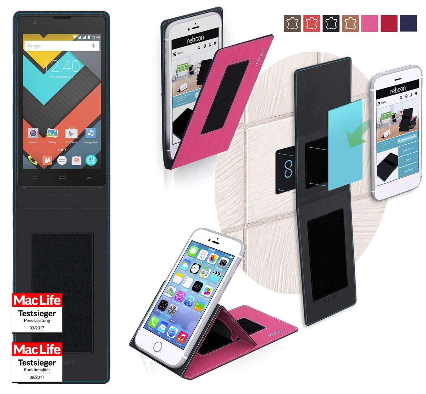reboon Funda para Energy Phone MAX 4G | in Rosa | Carcasa ...