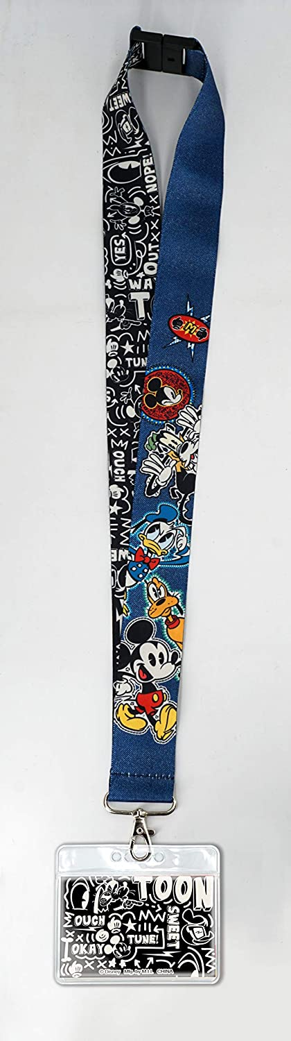 Mickey and Friends Deluxe Lanyard Monogram 85988