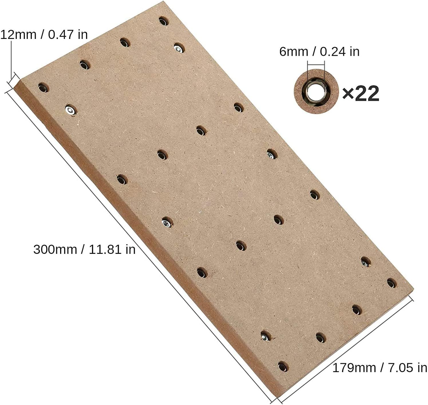 30 x 18 x 1.2cm 11-4//5x 7x 1//2 1//8 Shank Genmitsu CNC MDF Spoilboard for 3018 CNC Routers + 4PCS T-Track Mini Hold Down Clamp Kit 40PCS End Mills CNC Router Bits