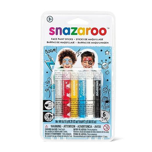 14 opinioni per SNAZAROO CERONCINI STICKS PER VISO set di 6 BOYS 1160602 girls & boys make up