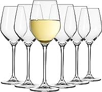 Krosno Pequeño Copas de Vino Blanco   Conjunto de 6 Piezas   200 ML   Splendour Collection Uso en Casa