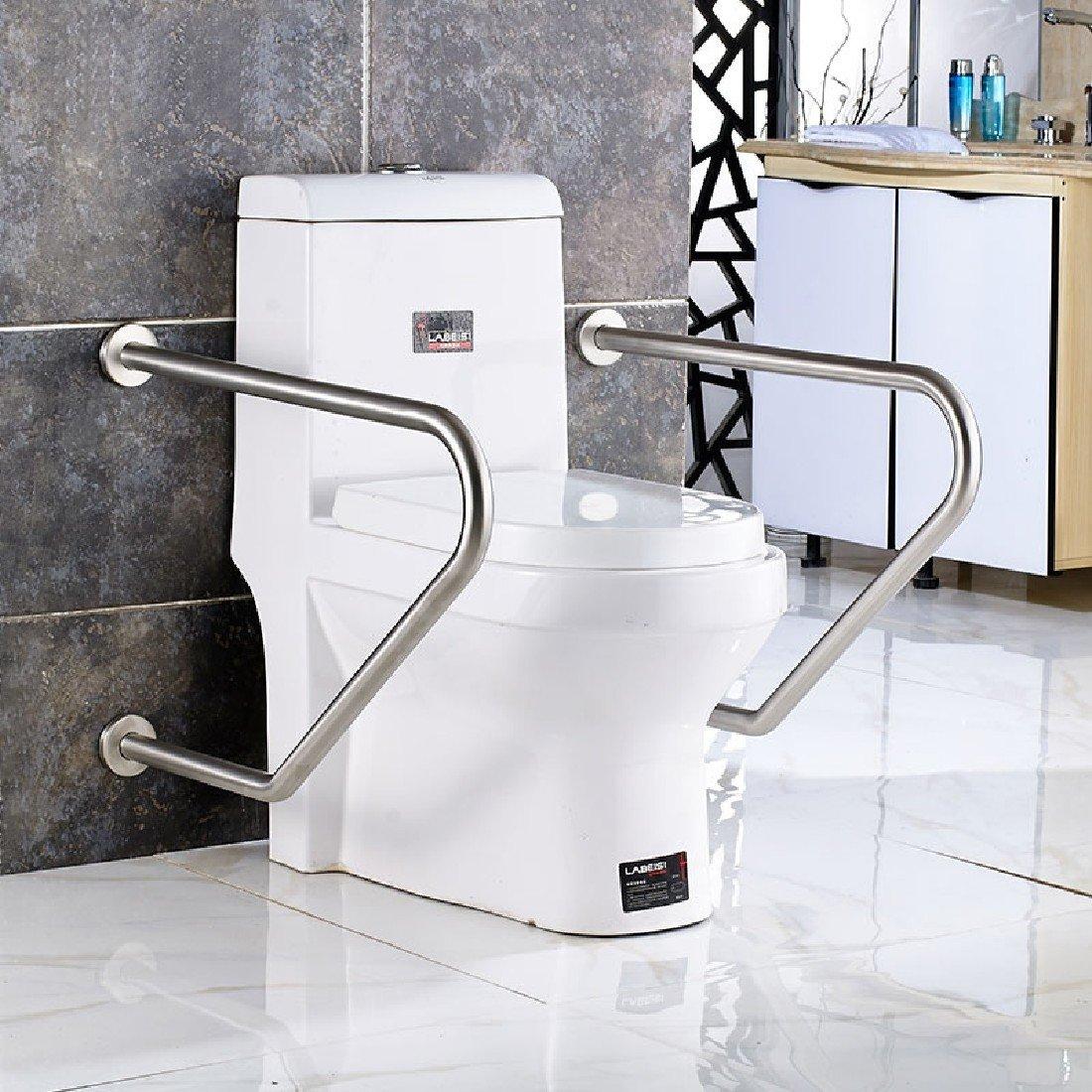 SDKKY Barres de sécurité dans le bain Main courante en acier inoxydable 304 Salle de bains pour personnes handicap