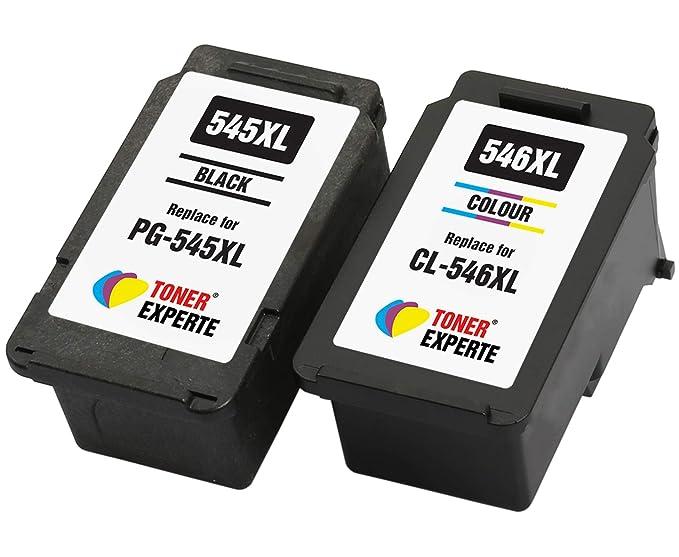 PG545 PG-545XL CL546 CL-546XL TONER EXPERTE® 2 XL Cartuchos de ...