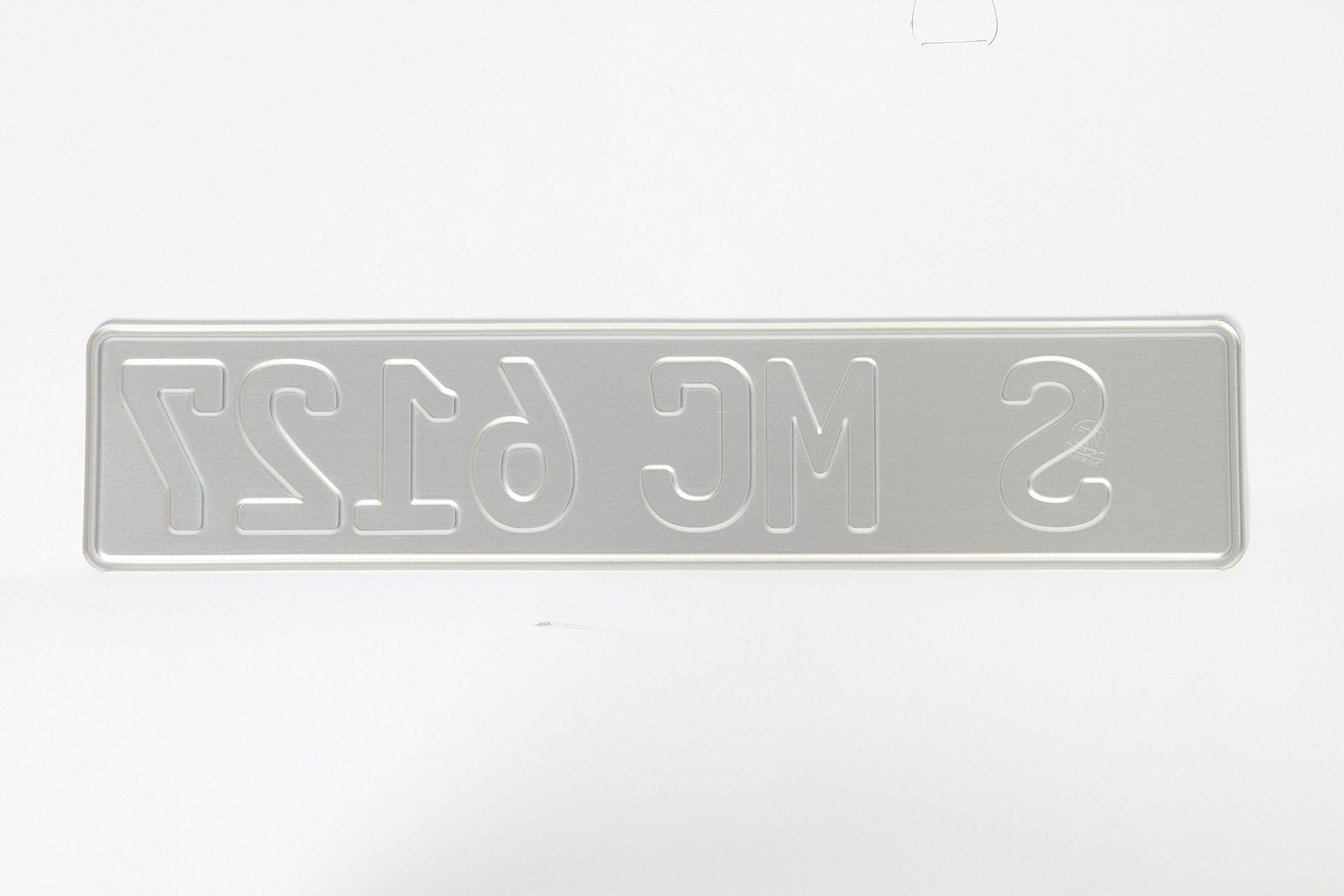 Custom German License Plate - Customizable - German EU or Coat of Arms Side Bar by European License Plates (Image #2)
