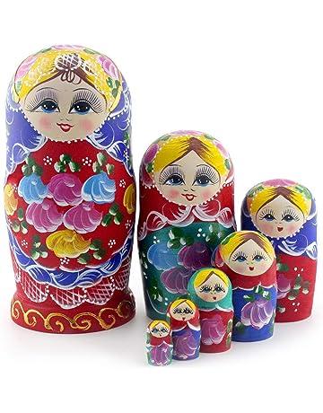 Amazon Com Nesting Dolls Toys Games
