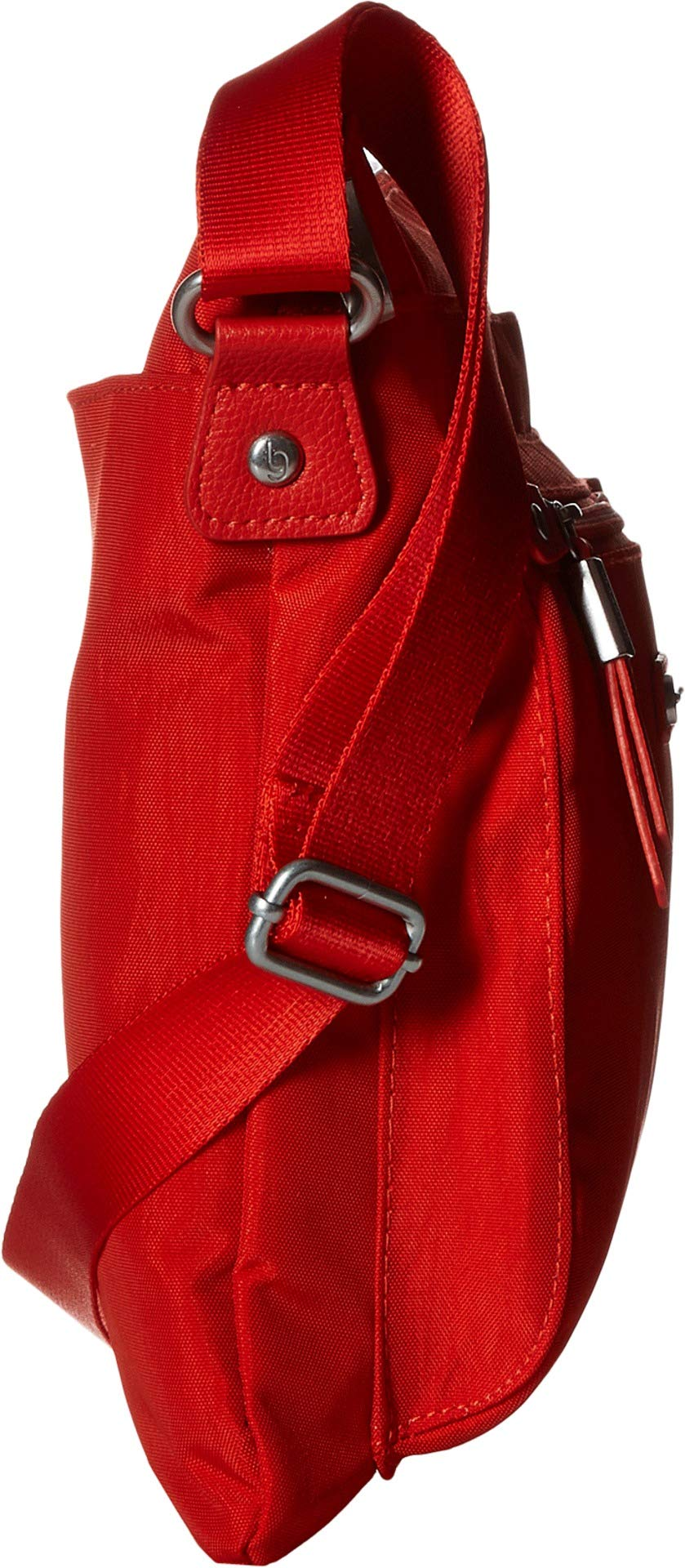 Baggallini Women's New Classic Go Bagg with RFID Phone Wristlet Vibrant Poppy One Size by Baggallini (Image #3)