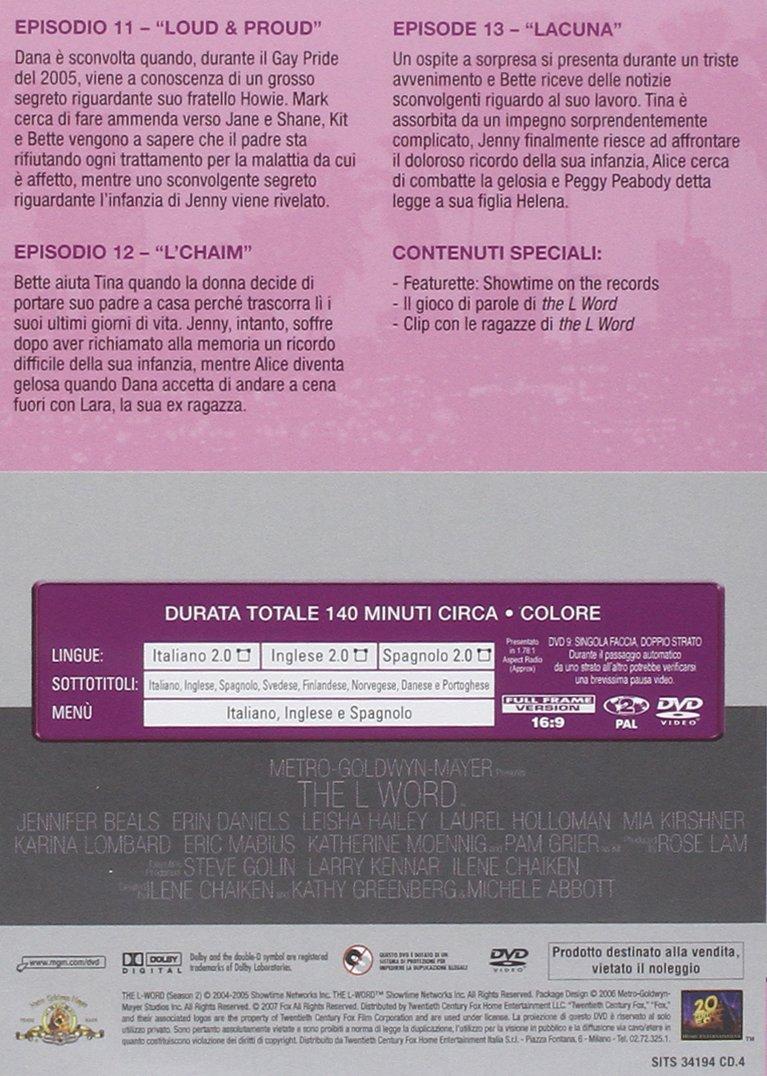 The L word Stagione 02 [Italia] [DVD]: Amazon.es: vari, vari, vari: Cine y Series TV