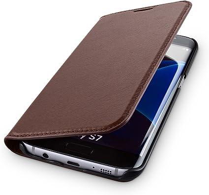 Wiiuka Echt Ledertasche Travel Nature Für Samsung Computer Zubehör