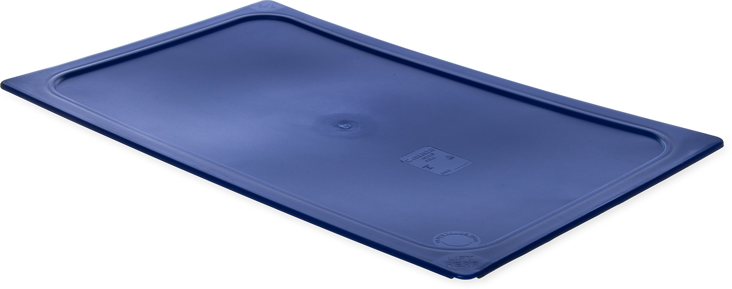 Carlisle 10212B60 Smart Lids Full Size Polyethylene Lid, Dark Blue by Carlisle