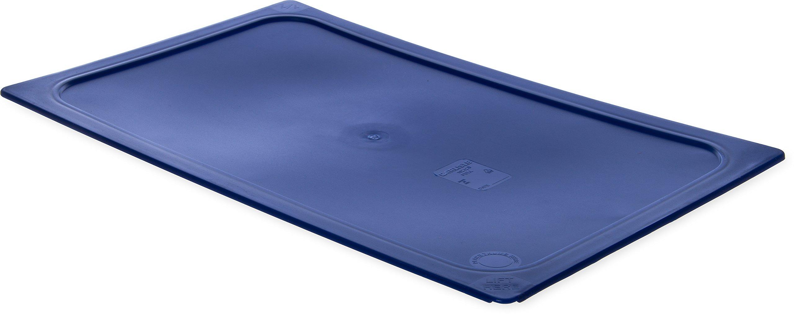 Carlisle 10212B60 Smart Lids Full Size Polyethylene Lid, Dark Blue