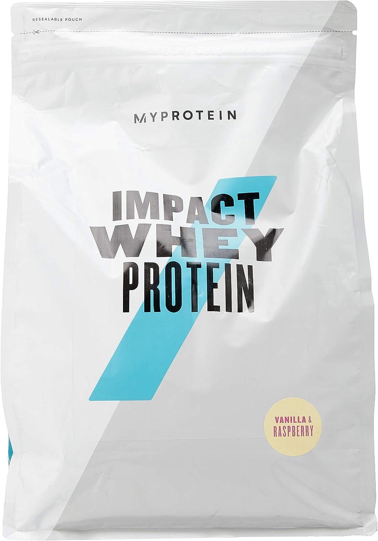 MyProtein Impact Whey Proteína de Suero, Sabor Vainilla y ...