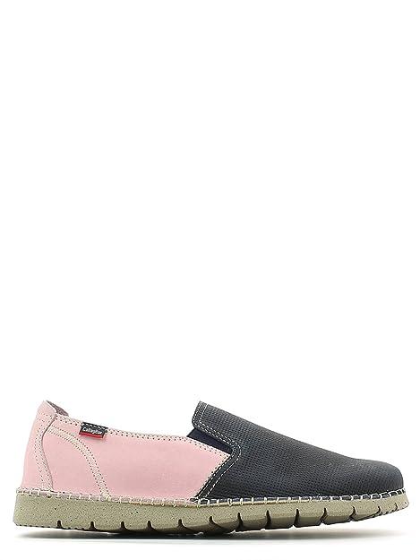 CallagHan 84710 Mocasines Hombre Azul/Rosa 44: Amazon.es: Zapatos y complementos