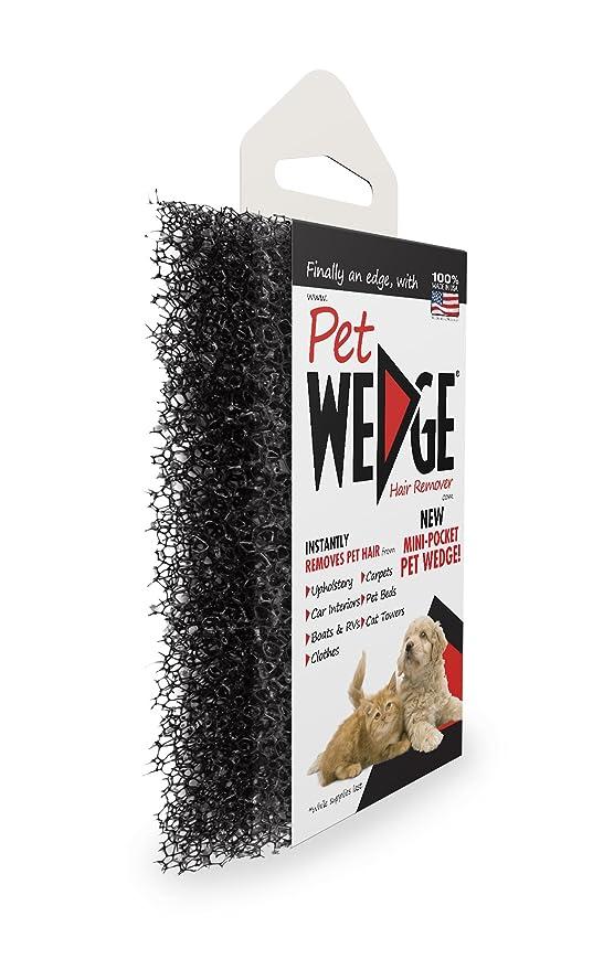 : Amazon.com: Pet Wedge Hair Remover- 2 Pack Pet Wedge & 2 Free Mini-Pocket Pet Wedge. Bonus Pack