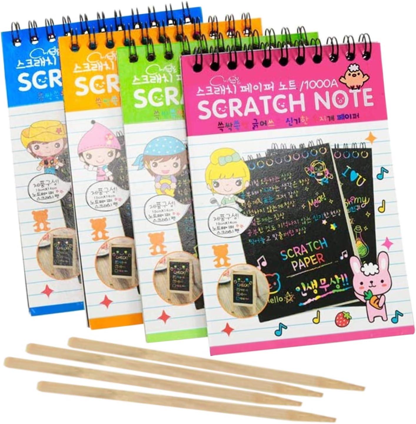 agreatlife Scratch art notebool