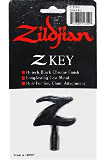 Zildjian Leather Key Ring Avedis Zildjian Company T3901