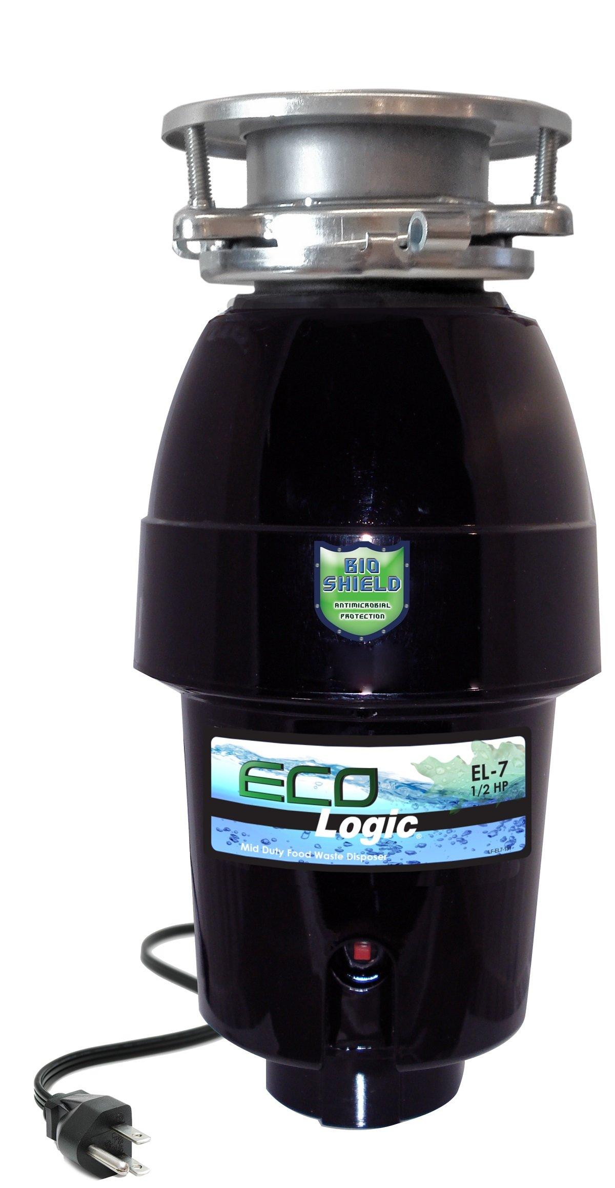 Eco Logic EL-7-3B 7 Mid-Duty Food Waste Disposer by Eco Logic