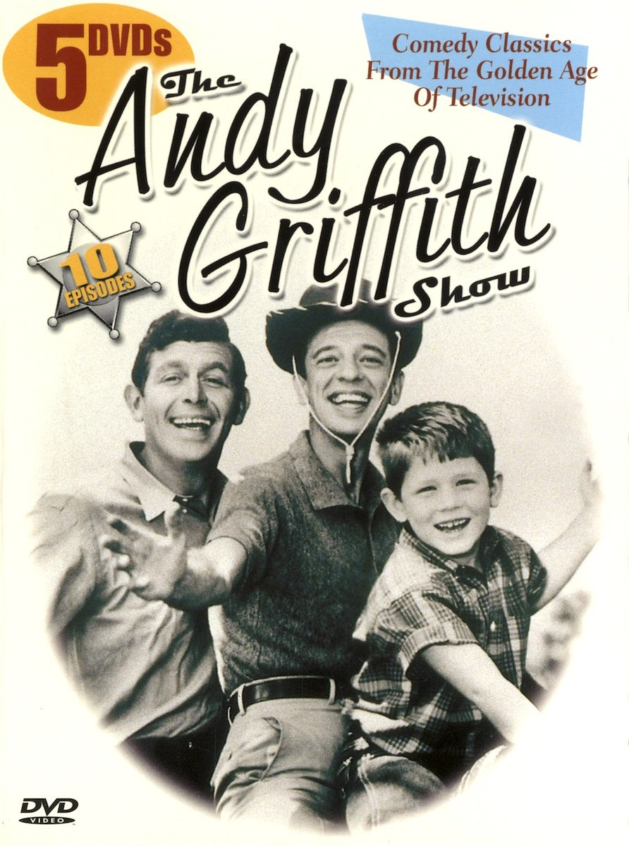 ANDY GRIFFITH SHOW - 10 EPISODES Comedy Classics From Golden Age Of Television (5 Dvd)