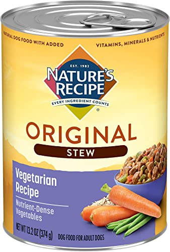 Nature's Recipe Healthy Skin Wet Dog Food, 13.2 Ounce Pack of 12