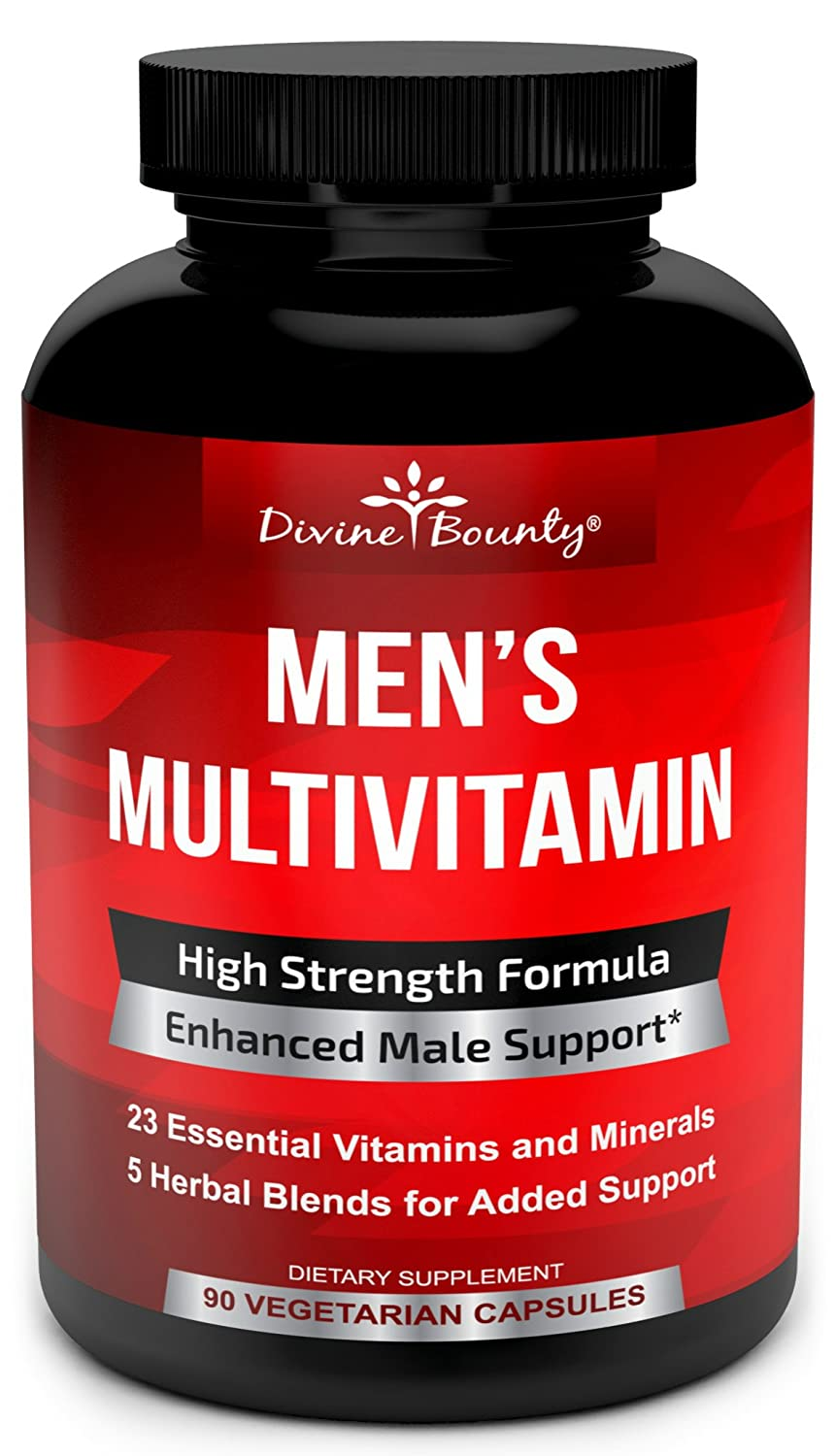 Amazon.com: Multivitamina para Hombre - Multivitamina diaria ...