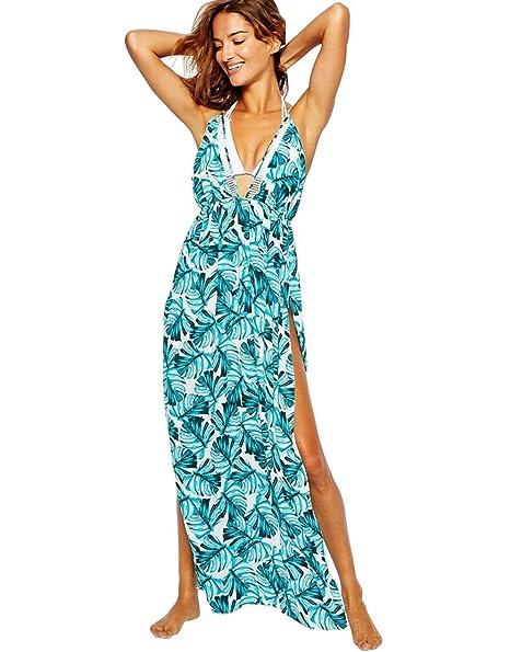 Amazon.com: Walant largas Cover Ups la playa vestido de ...