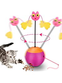 Spinning Laser Cat Toy