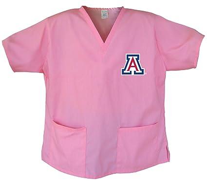 671f2cb729b Ladies University of Arizona Shirts Arizona Wildcats Scrubs - Tops for Women  XS