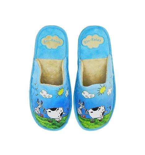 Zapatillas Biorelax - Zapatillas Casa Vaca: Amazon.es: Zapatos y complementos