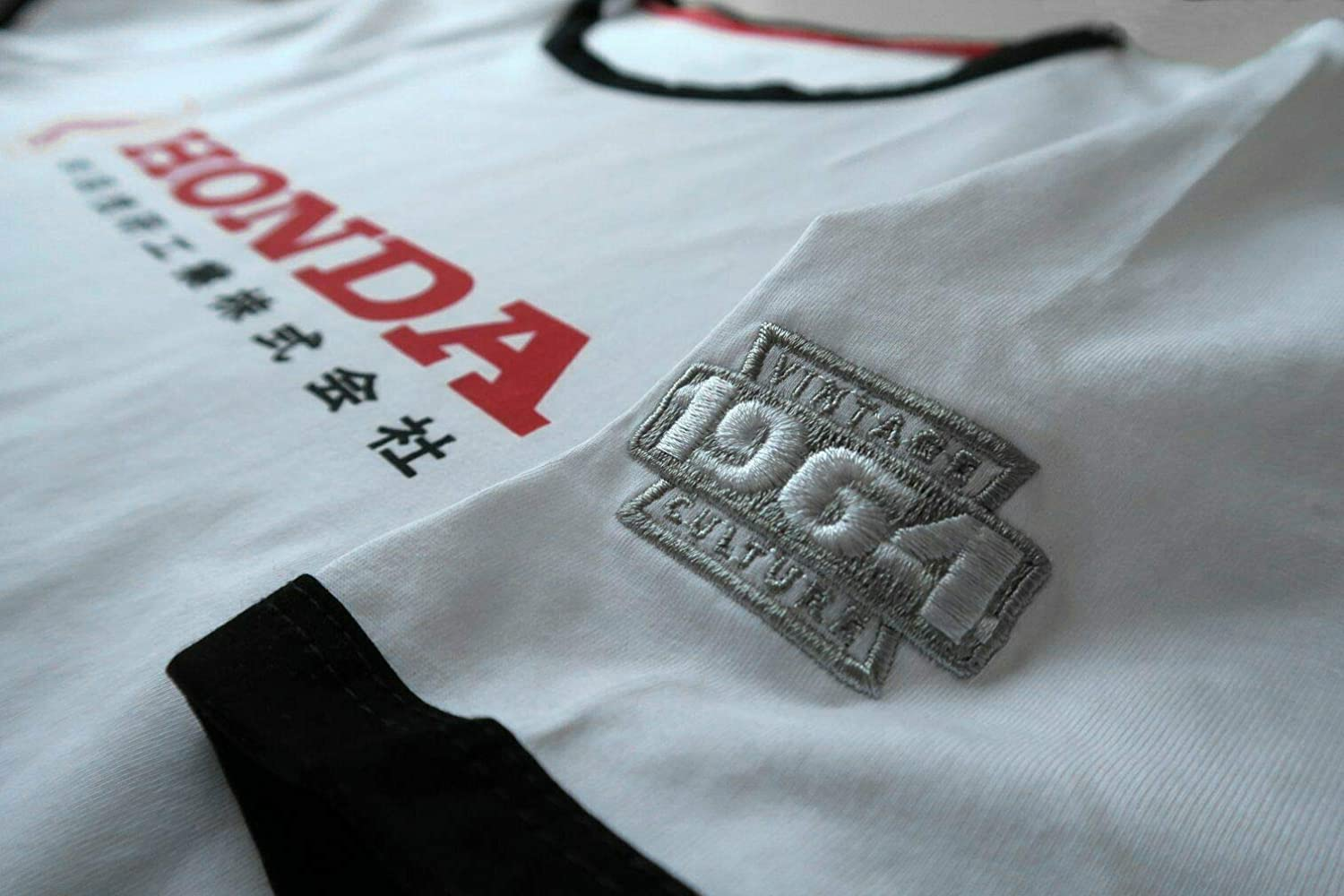 Vintage Culture Officially Licensed Honda 1964 Japan Brand Tee Shirt White